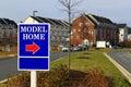 Model Home Sign