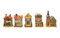 Model houses Stock Images