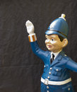 Model policeman Royalty Free Stock Photos
