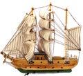 Model of sail boat Royalty Free Stock Photo