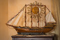Model of sailing ship Royalty Free Stock Photo