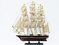 Model ship Stock Photos