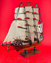 Model ship Royalty Free Stock Image
