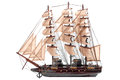 Model ship Royalty Free Stock Photo