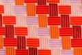 Modelo de la materia textil Foto de archivo