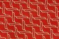Modelo de la materia textil Imagenes de archivo