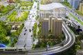 Models of urban mass transit system Royalty Free Stock Photo