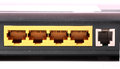 Modem ports beautiful shot of different types of Royalty Free Stock Image