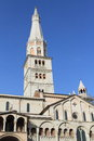 Modena cathedral unesco world heritage in italy Stock Image