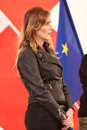 Modena italy september maria elena boschi public politic conference democratic party convention Stock Images