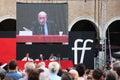 Modena italy september umberto galimberti public philosophic conference festival of the philosophy Stock Photo