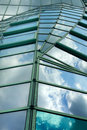 Moder glass roof Royalty Free Stock Photo