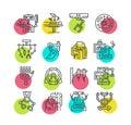 Robotic Surgery Icons