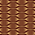 Modern abstract pattern of interwoven lines.