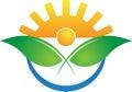 Modern agriculture logo