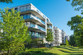 Modern apartment houses Royalty Free Stock Photo
