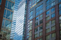 Modern apartment and office buildings in new york city Stock Photos