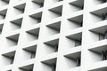 Modern Architecture Detail - Hong Kong, China Royalty Free Stock Photo