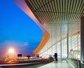 Modern Architecture At Night