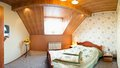 Modern attic or loft bedroom Royalty Free Stock Photo