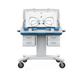 Modern baby incubator isolated on white background d render Stock Photos