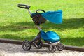 Modern baby stroller Royalty Free Stock Photo