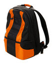 Modern backpack Royalty Free Stock Photo