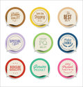 Modern badges and labels collection