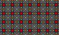 Modern Batik Pattern Vector.