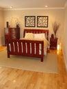 Modern bedroom Royalty Free Stock Image
