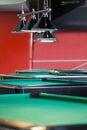 Modern Billiard Club Inviting to Play Royalty Free Stock Photo