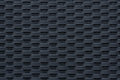 Modern black weave texture and contemporary plastic fabric pattern or suitable for backgrounds or website wallpaper Stock Photography