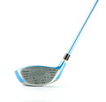 Modern blue golf club isolated Stock Images