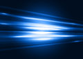 Modern blue transparent hi-tech speed of light abstract background template. Motion graphic trail. Night road concept