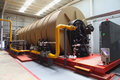 Modern boiler Stock Photography
