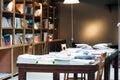 A modern bookshop Royalty Free Stock Photo