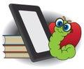 Modern Bookworm Royalty Free Stock Photo