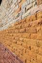 Modern Brick Wall Stock Image