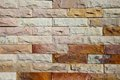 Modern brick wall surfaced pattern of Stock Photo