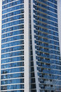Modern building for apartments at the gold coast australia Royalty Free Stock Photos