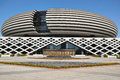 Modern building the close up of shanxi geological museum in taiyuan shanxi china Royalty Free Stock Images