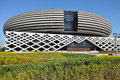 Modern building the close up of shanxi geological museum in taiyuan shanxi china Stock Images