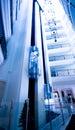 Modern building lift Royalty Free Stock Photo