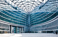Modern building: new palazzo Lombardia Milan Stock Photos