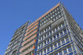 Modern building with offices and apartments in kiel germany Royalty Free Stock Photo