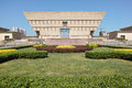 Modern building the scenery of shanxi museum in taiyuan shanxi china Royalty Free Stock Image