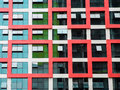 Modern building windows Royalty Free Stock Photo