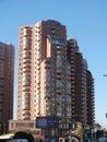 Modern buildings in astana kazakhstan residential Royalty Free Stock Images