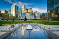 Modern buildings at David Pecaut Square, in downtown Toronto, On Royalty Free Stock Photo