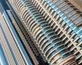 Modern buildings in Dubai Royalty Free Stock Photo